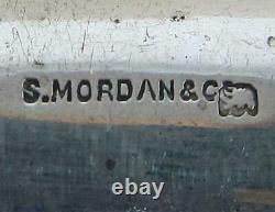 ASPRAY ANTIQUE STERLING SILVER LETTER OPENER & PENCIL by SAMPSON MORDAN &CO 1921