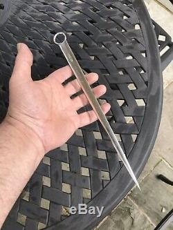 Antique Solid Silver Meat Skewer Or letter Opener Sheffield 1906 By Hanry Atkin