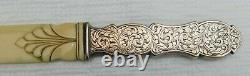 Antique Sterling Silver Letter Opener XVIII th