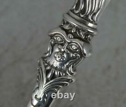 Antique Victorian Aesthetic Movement Sterling Silver Letter Opener
