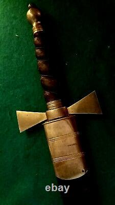 Antique Victorian Royal Arch/Chapter Large Letter Opener by George Kenning & Son