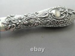 Beautiful Antique Sterling Silver Letter Opener Page Turner England 1897 11.1/2