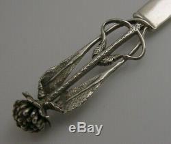 Beautiful Hand Made Australian Solid Silver Letter Opener c1980 ZL