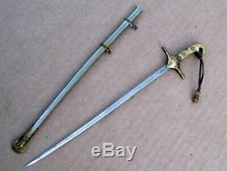 CIVIL War U. S. Marine Corps Antique 19th Century Victorian Sword Letter Opener