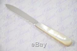 Cased Sheffield Silver Bladed Mother Of Pearl Letter Opener 1905
