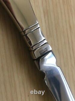 Georg Jensen Continental Sterling Silver Letter Opener 7 5/8 Stainless Blade