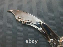 MERMAID DOLPHIN Letter Opener Silverplate ART NOUVEAU UNGER BROS Reproduction