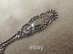 No. 49 by Towle 6 all Sterling letter opener paper knife circa 1880 Rare