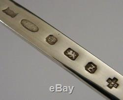 Novelty Solid Sterling Silver Raspberry Letter Opener 2000 English Boxed