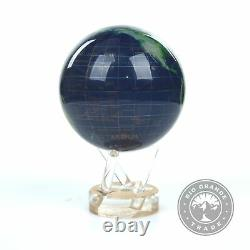 OPEN BOX Mova FBA MG-45-STW Satellite View with Gold Lettering Globe 4.5