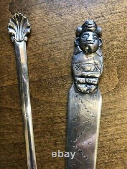 Rare Antique Sterling Silver Letter Opener Collection