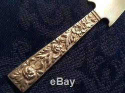 Sterling Letter Opener Sold Sterling marked S. Kirk and Son Co. 925