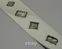 Superb Cased English Sterling Silver Letter Opener 1997 Mint Mappin & Webb