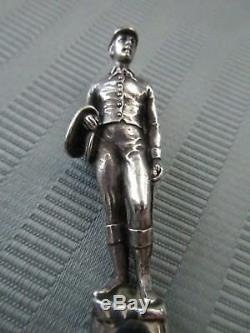 TIFFANY & CO Makers JOCKEY Rider LETTER Opener FIGURAL 3D STERLING SILVER. 925