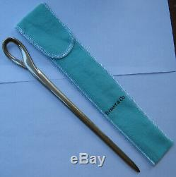 Tiffany & Co. Sterling Silver Letter Opener Padova Pattern by Elsa Peretti