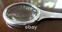Tiffany & Company Sterling Silver Letter Opener & Magnifying Glass