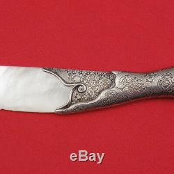 Tiffany and Co Sterling Silver Acid Etched Letter Opener 9 1/4 Antique Rare