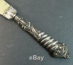 Victorian Hallmarked Silver Letter Opener or Page Turner
