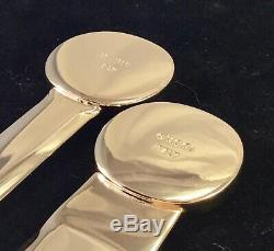 Vintage Gucci Gold Plated Letter Opener/shoe Horn Rare Collectible Condition