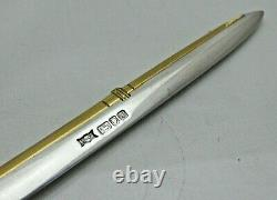 Vintage Sterling Solid Silver Rowing Oar or Scull Letter Opener (1611/A/ESY)