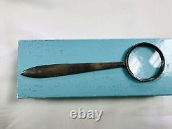 Vintage Tiffany & Co. Sterling Silver Magnifying Glass/Letter Opener- No Reserve
