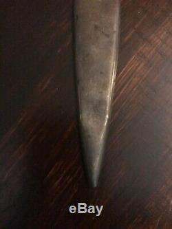 Vintage William B. Kerr American Indian Chief Sterling Silver Letter Opener