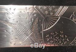 WM Wilson & Son Sterlng Silver Page Turner/ Letter Opener Japanese Aesthetic